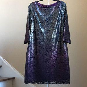 🎀 Jessica Howard Metallic Dress